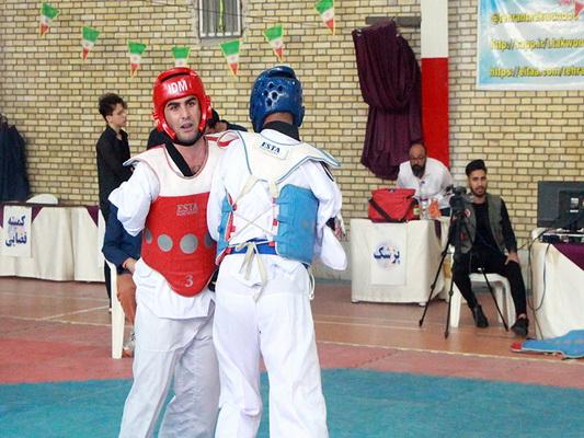 گزارش تصویری۱/مسابقات قهرمانی پاراتکواندو کشور (مردان)
