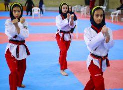گزارش تصویری۳/مسابقات قهرمانی پومسه دختران استان
