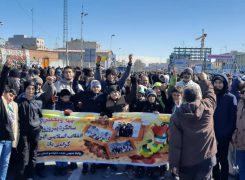 حضور پرشور خانواده بزرگ تکواندو پایتخت در مراسم راهپیمایی ۲۲ بهمن