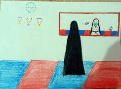 اعلام برندگان مسابقه نقاشی به مناسبت روز حجاب و عفاف