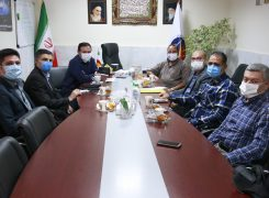 برگزاری نشست روسای هیات های حوزه و شهرستان ها با دبیر استان