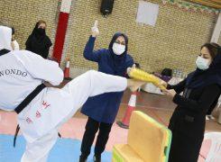 گزارش تصویری ۱/مسابقات آزاد قهرمانی هانمادانگ بانوان استان تهران