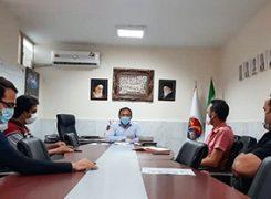 نشست مسئولین  پردیس با دبیر هیات استان برگزار شد