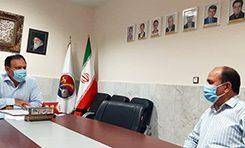 نشست سازمان لیگ با دبیر استان برگزار شد