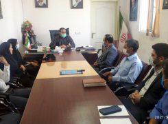 جلسه معارفه  مسئول هیات تکواندو بخش بوستان برگزار شد